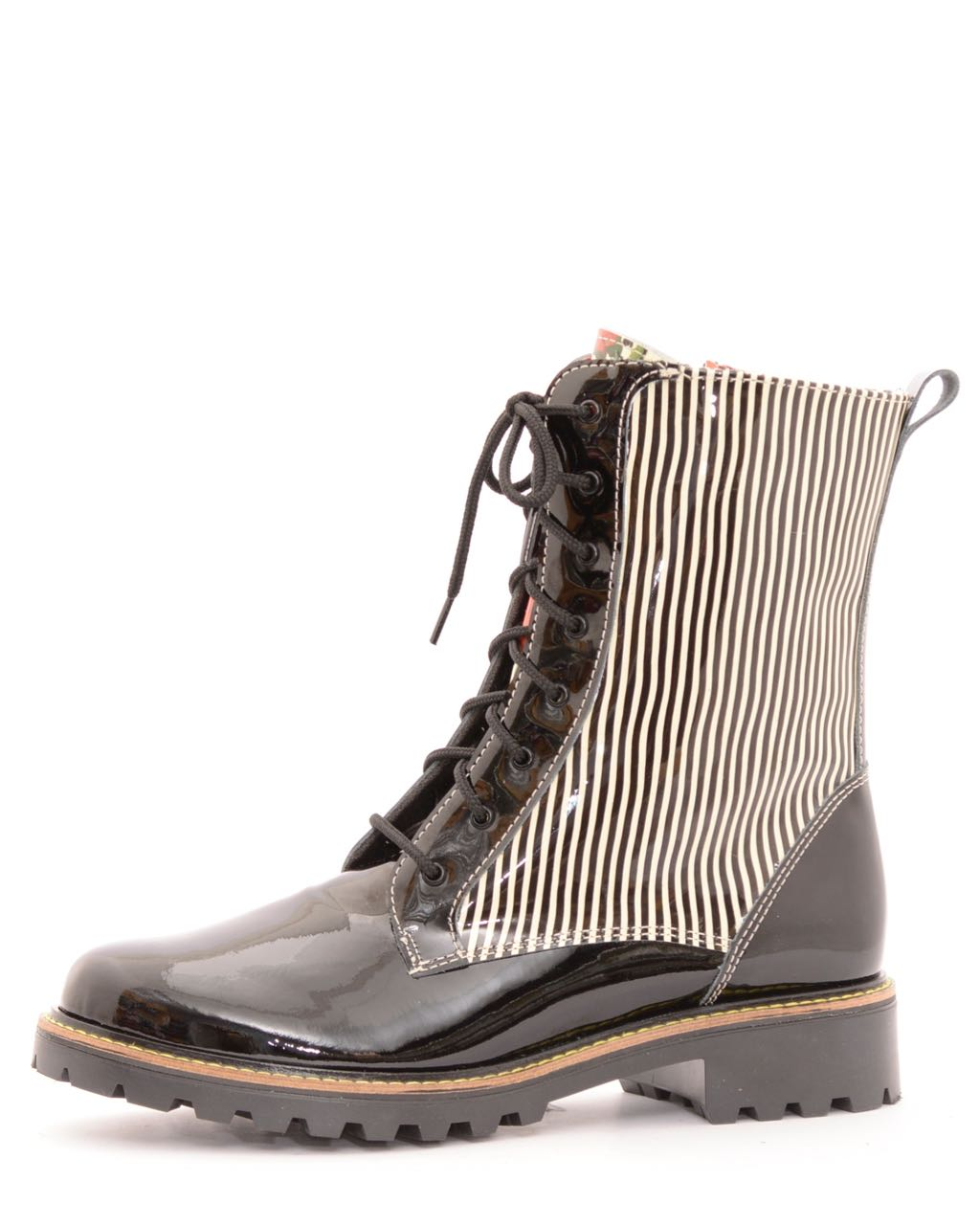 Mael Stripes Design Boots