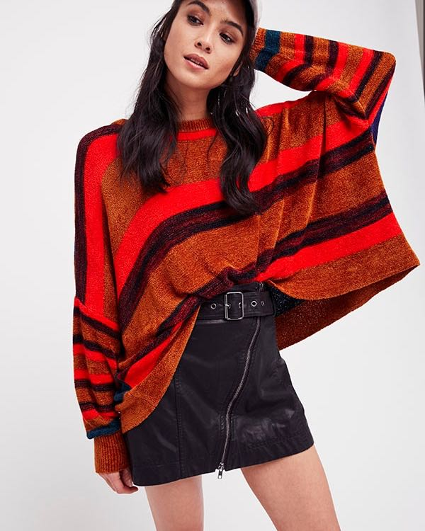 Free People Oversize Sweater Fall 2017