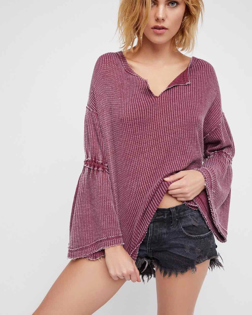 Free People Dhalia Thermal OB641133