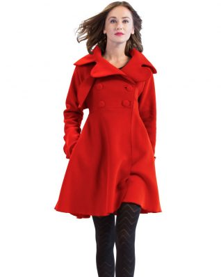 Pygmees Coat Takuya, Red