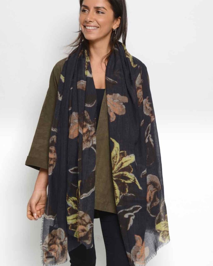 Moment by Moment Scarf Allegra Deep Yellow Buy Online