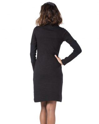 Pygmees Dress Salinger, Black Red