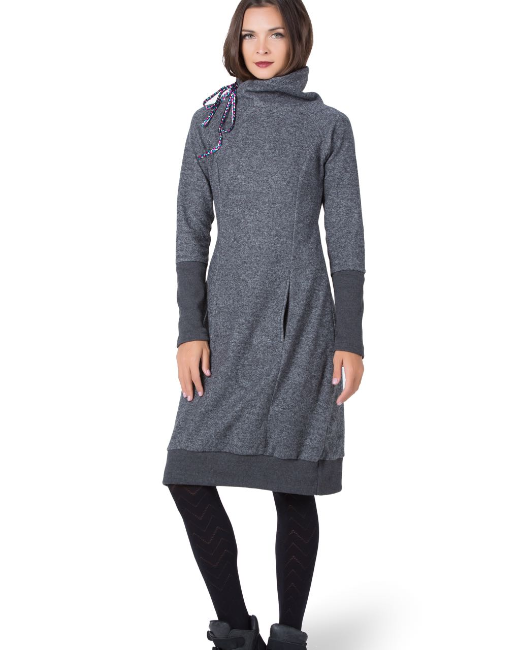 Turbowear Grey Fall Dress Avignon