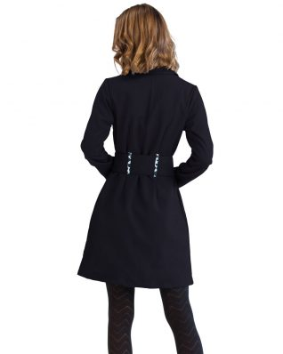 Pygmees Black Trench Coat