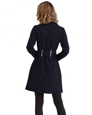Pygmees Black Trench Coat