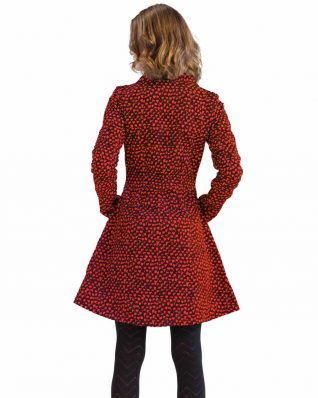 Turbowear Black Red Coat Thann