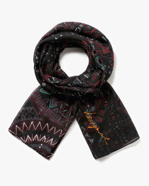 17WAWFG1_2000 Desigual Scarf Rectangle Noa Buy Online