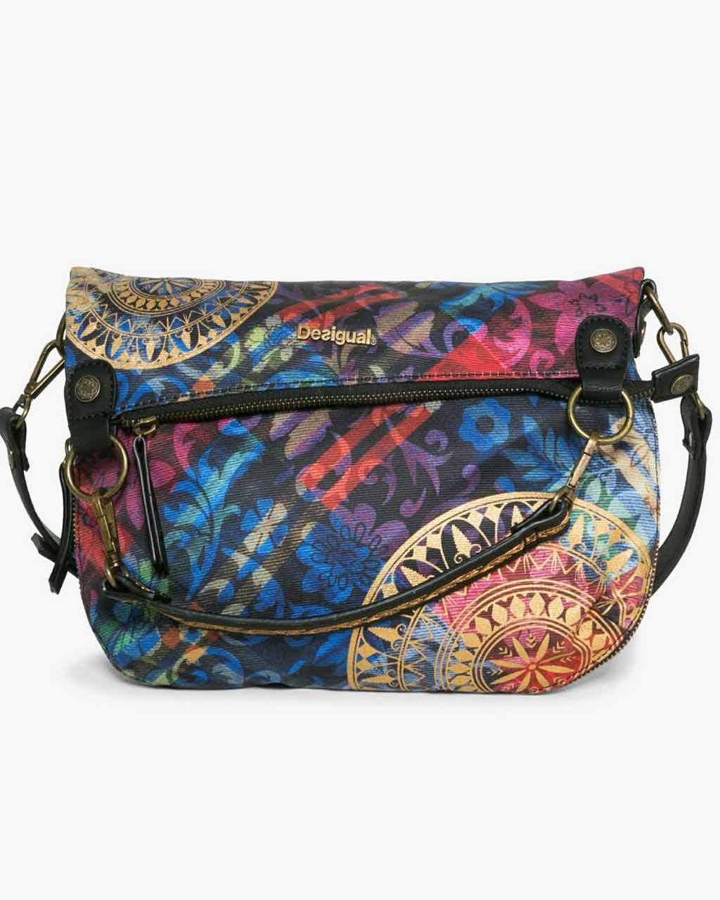 17WAXFA3_3147 Desigual Bag Folded Transflores Buy Online