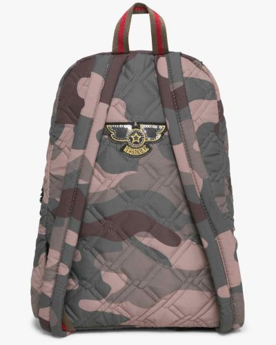 17WAXFJR_4087 Desigual Backpack Lima Military Parches Canada