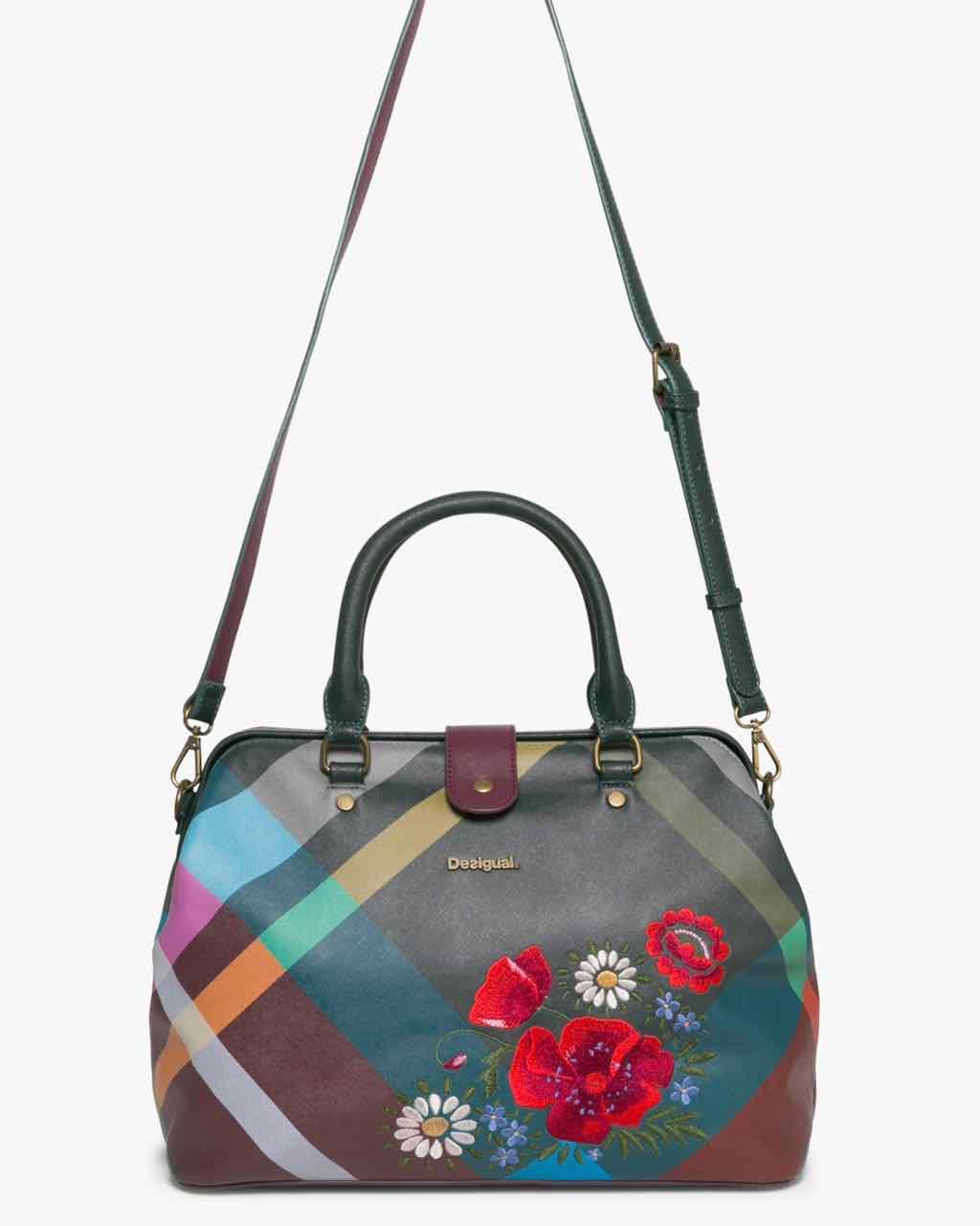 17WAXPEH_4003 Desigual Bag Nicaragua Madras Folk Flores Buy Online