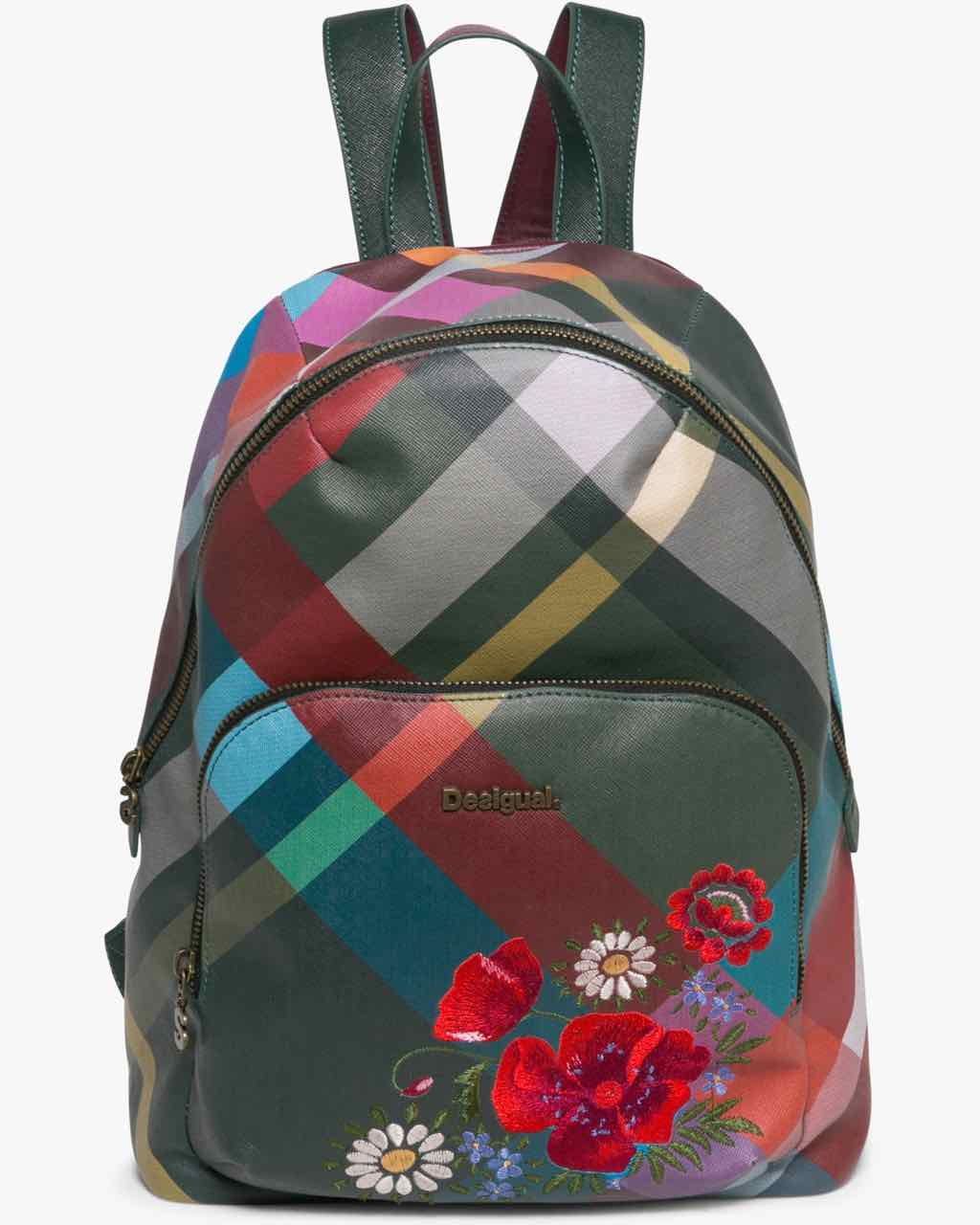 17WAXPPR_4003 Desigual Backpack Lima Mandras Folk Flores Buy Online