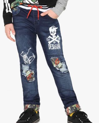 17WBDD05_5006 Desigual Boys Jeans Dark Buy Online