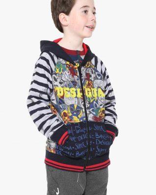 17WBSK02_5000 Desigual Boy Sweater Gabriel Buy Online