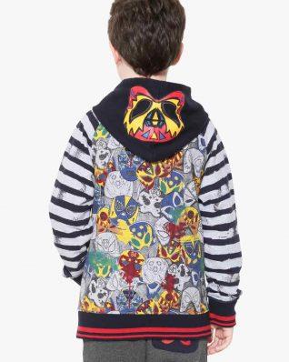 17WBSK02_5000 Desigual Boy Sweater Gabriel Canada