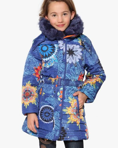 17WGEW05_5128 Desigual Girls Coat Nacal Buy Online