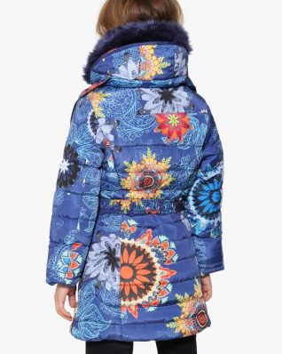17WGEW05_5128 Desigual Girls Coat Nacal Canada