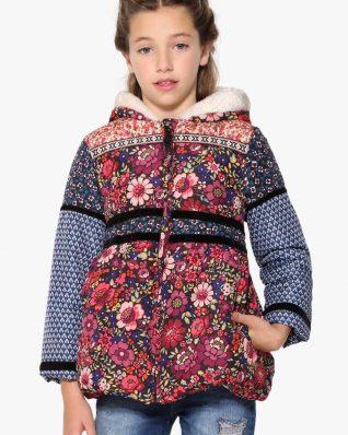17WGEW18_2000 Desigual Gurls Padded Coat Setter Buy Online