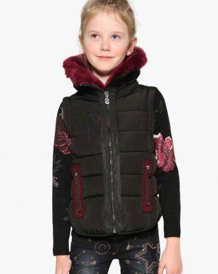 17WGEW23_2000 Desigual Girl Jacket Opuntia Buy Online