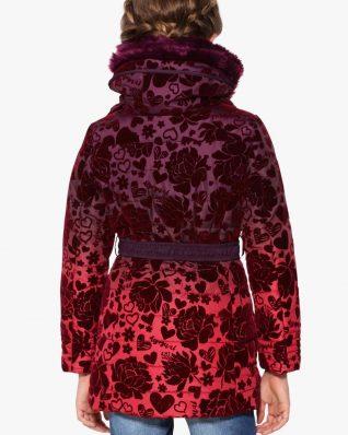 17WGEW27_3006 Desigual Girl Coat Sinita Canada
