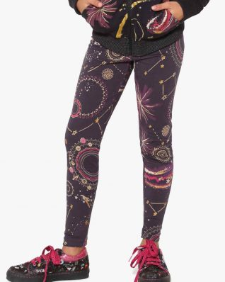 17WGKK04_2000 Desigual Girls Leggings Caimito Buy Online