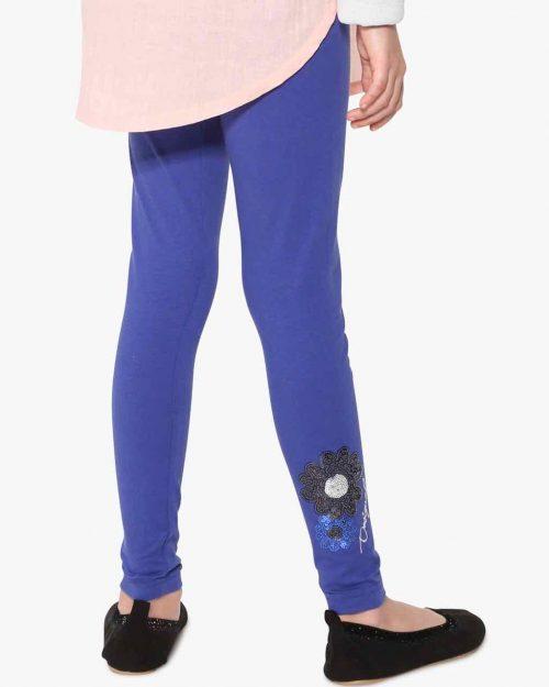 17WGKK16_5010 Desigual Girl Basic Leggings Blue Canada