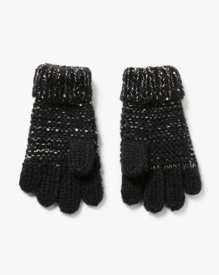 17WGOF01_2000 Desigual Girls Gloves Rambutan Canada