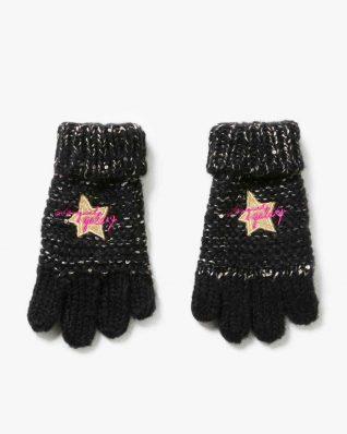 17WGOF01_2000 Desigual Girls Gloves Rambutan Buy Online