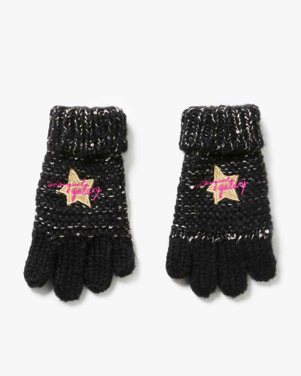 17WGOF01_2000 Desigual Girls Gloves Rambutan Buy Online