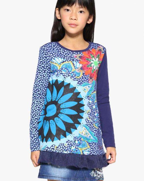 17WGTK14_5080 Desigual Girl T-Shirt Indiana Buy Online