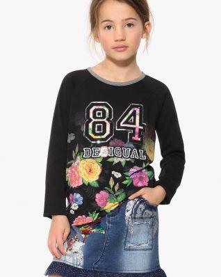 17WGTK56_2000 Desigual Girl T-Shirt Brunswic Buy Online