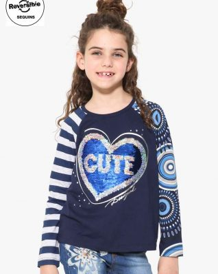17WGTK59_5040 Desigual Girl T-Shirt Saskatchewan Buy ONliine