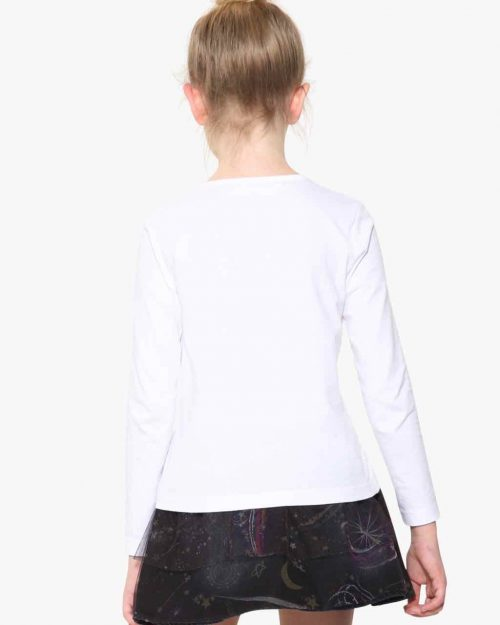 17WGTK83_1000 Desigual Girls T-Shirt Vancouver Canada