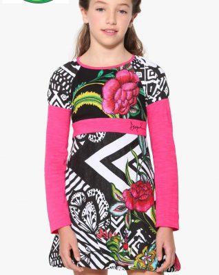 17WGVK03_2000 Desigual Girls Dress Porto-Novo Buy Online