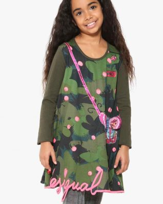 17WGVK54_4124 Desigual Girl Dress Albany Buy Online