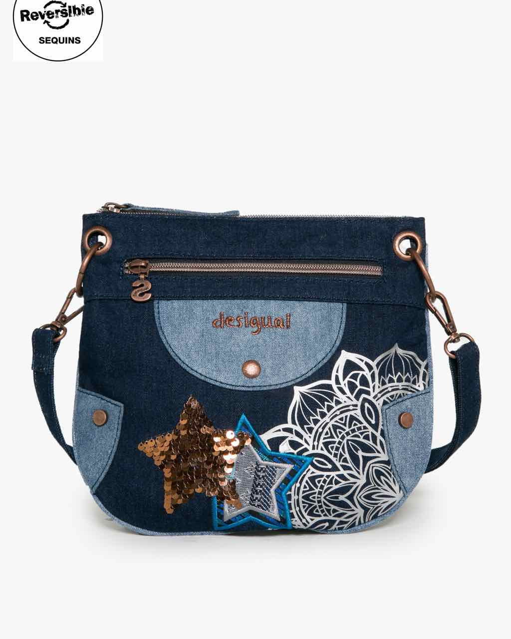 17WGXD03_5006 Desigual Girl Bag Denim Buy Online
