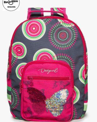 17WGXW05_2017 Desigual Girls Backpack Tamarillo Buy Online