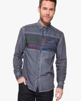 17WMCWB5_5189 Desigual Man Shirt Enooa Buy Online