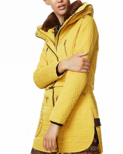 Desigual Jacket California Yellow