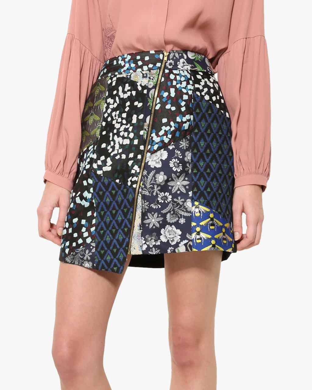 17WWFW14_5131 Desigual Skirt Georgina Buy Online