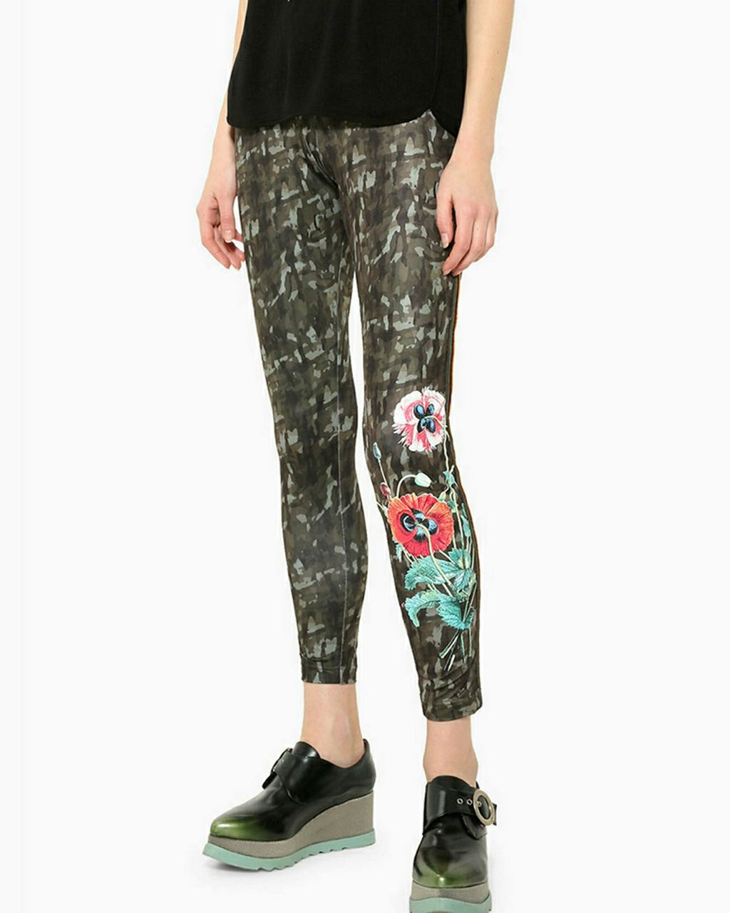 17WWKK11_4018 Desigual Leggings Ayrton Buy Online