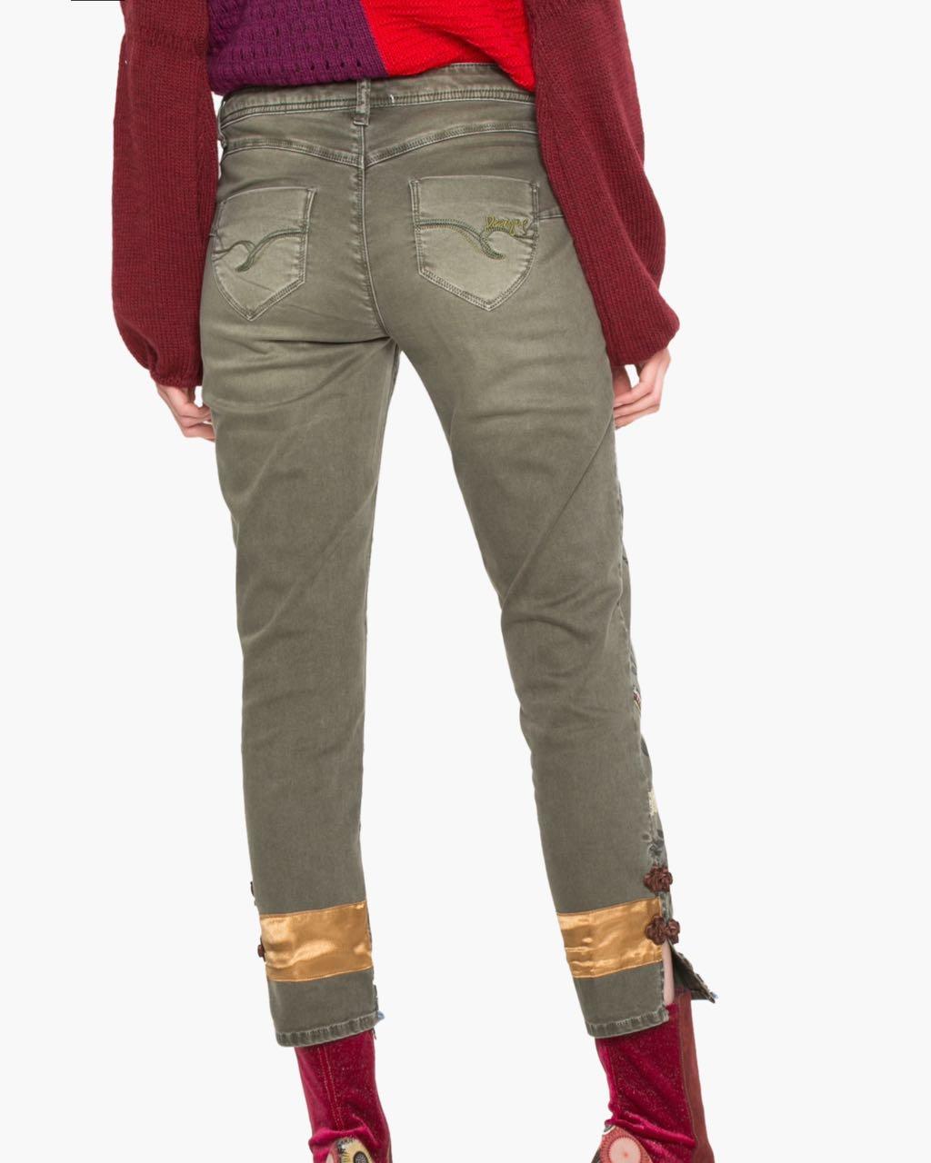 17WWPN21_6100 Desigual Pants Harry Canada