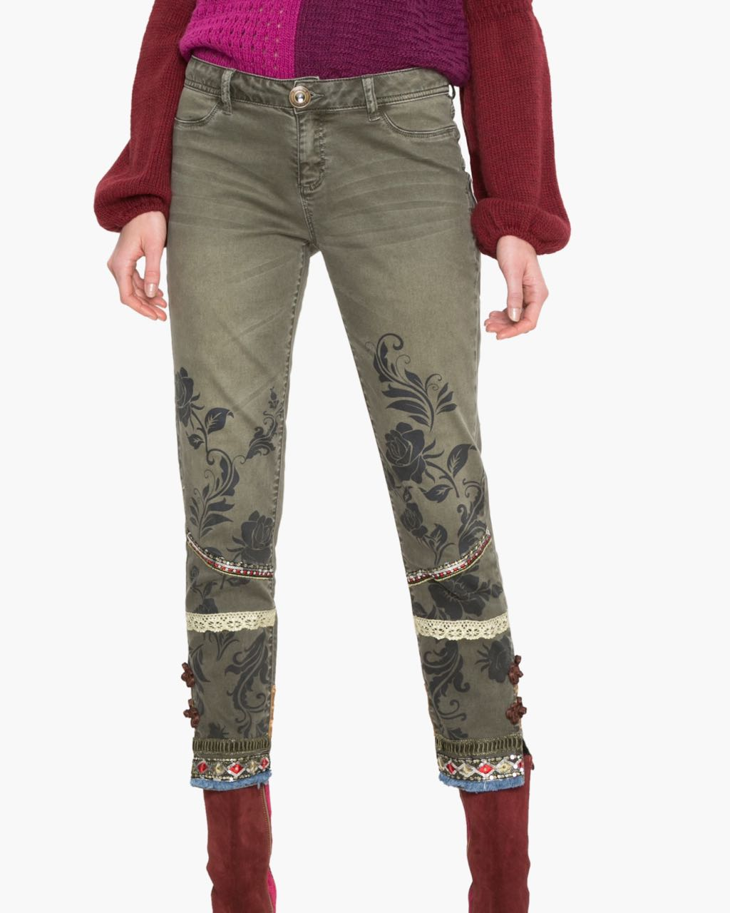 17WWPN21_6100 Desigual Pants Harry Buy Online