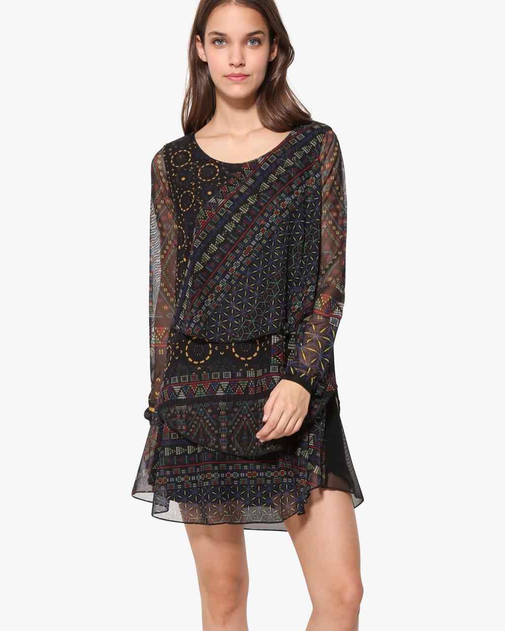 17WWVKC0_2000 Desigual Dress Capas Buy Online