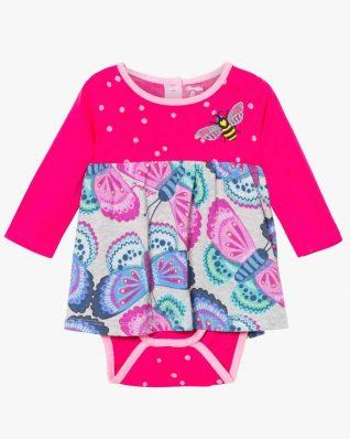 17WYVK04_3002 Desigual Baby Girl Dress Carlota Buy Online