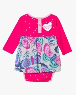 17WYVK04_3002 Desigual Baby Girl Dress Carlota Canada