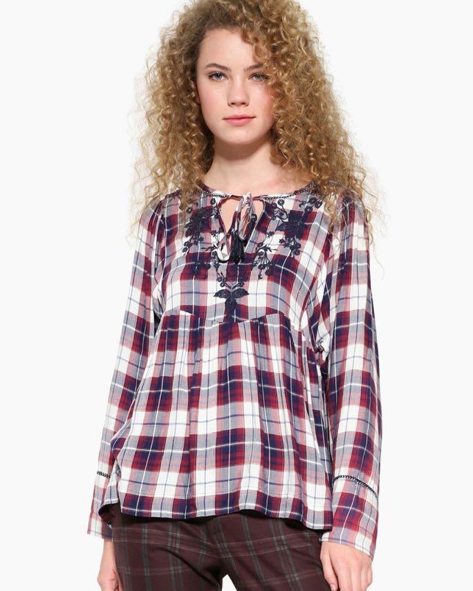 Desigual Shirt Check Design