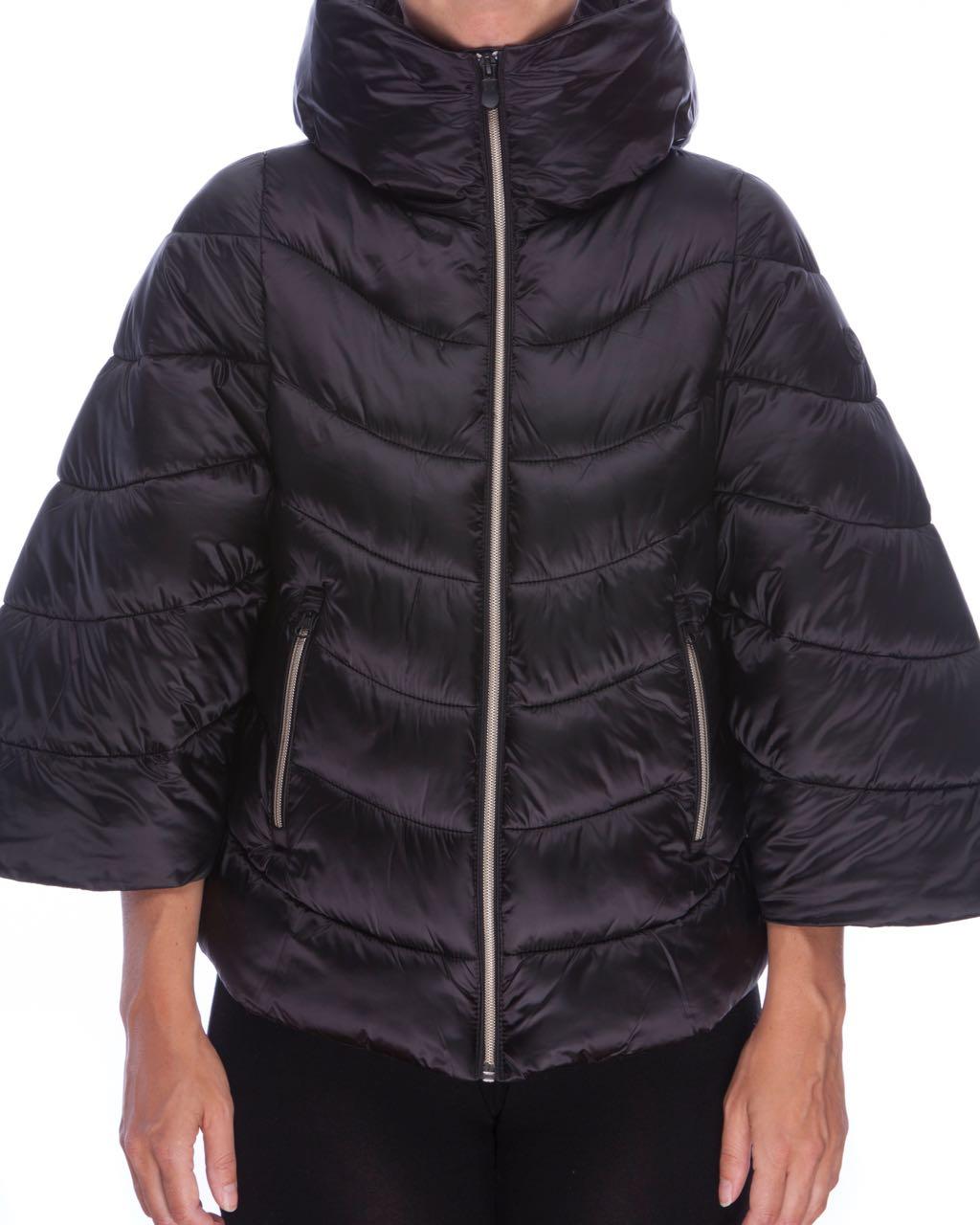3e4672fc01f481 SAVE THE DUCK Women's Hooded Jacket S3594W-IRIS5 (Black)   Buy ...