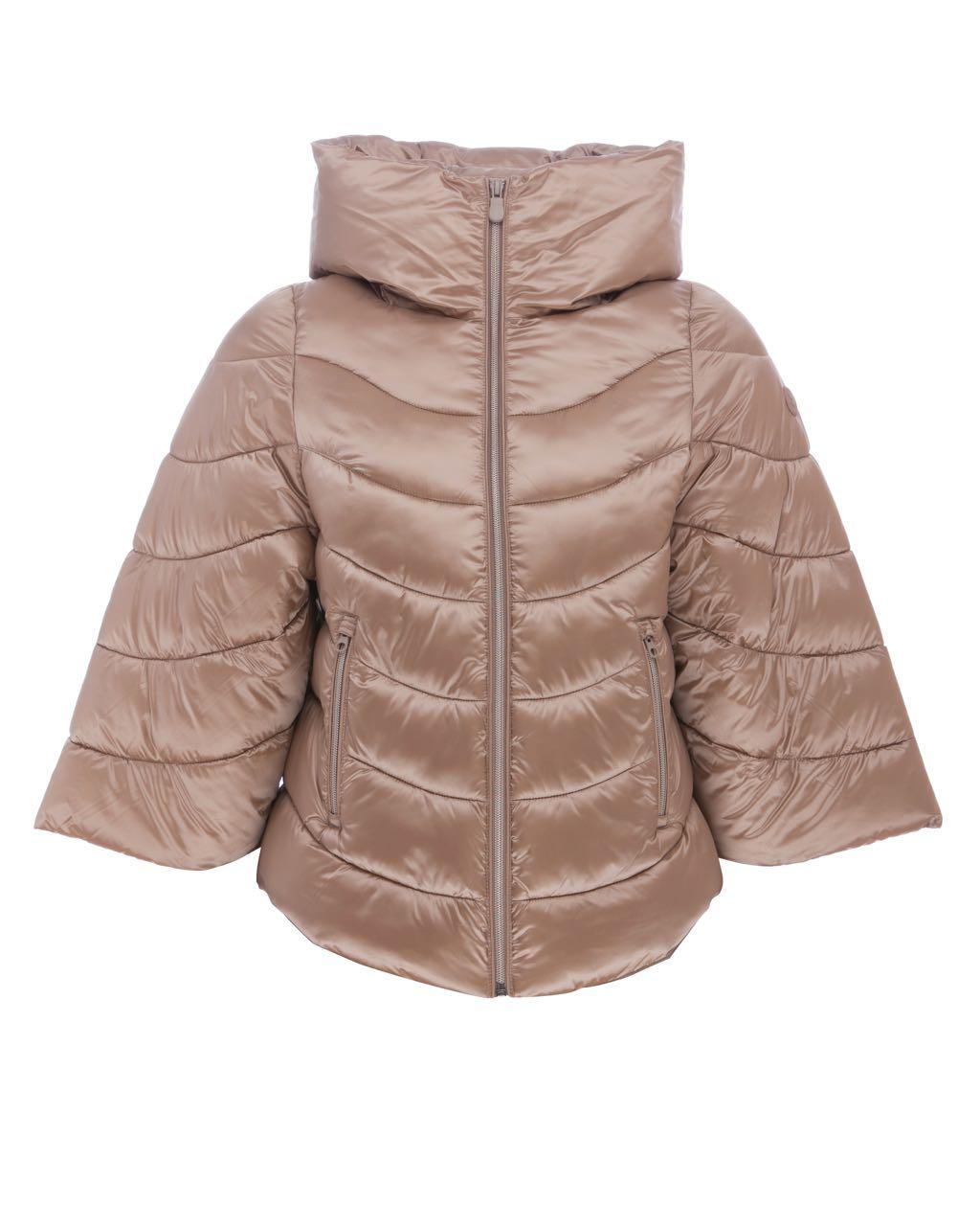 Save The Duck Short Jacket S3594W-IRIS5 Macaroon Beige Ontario