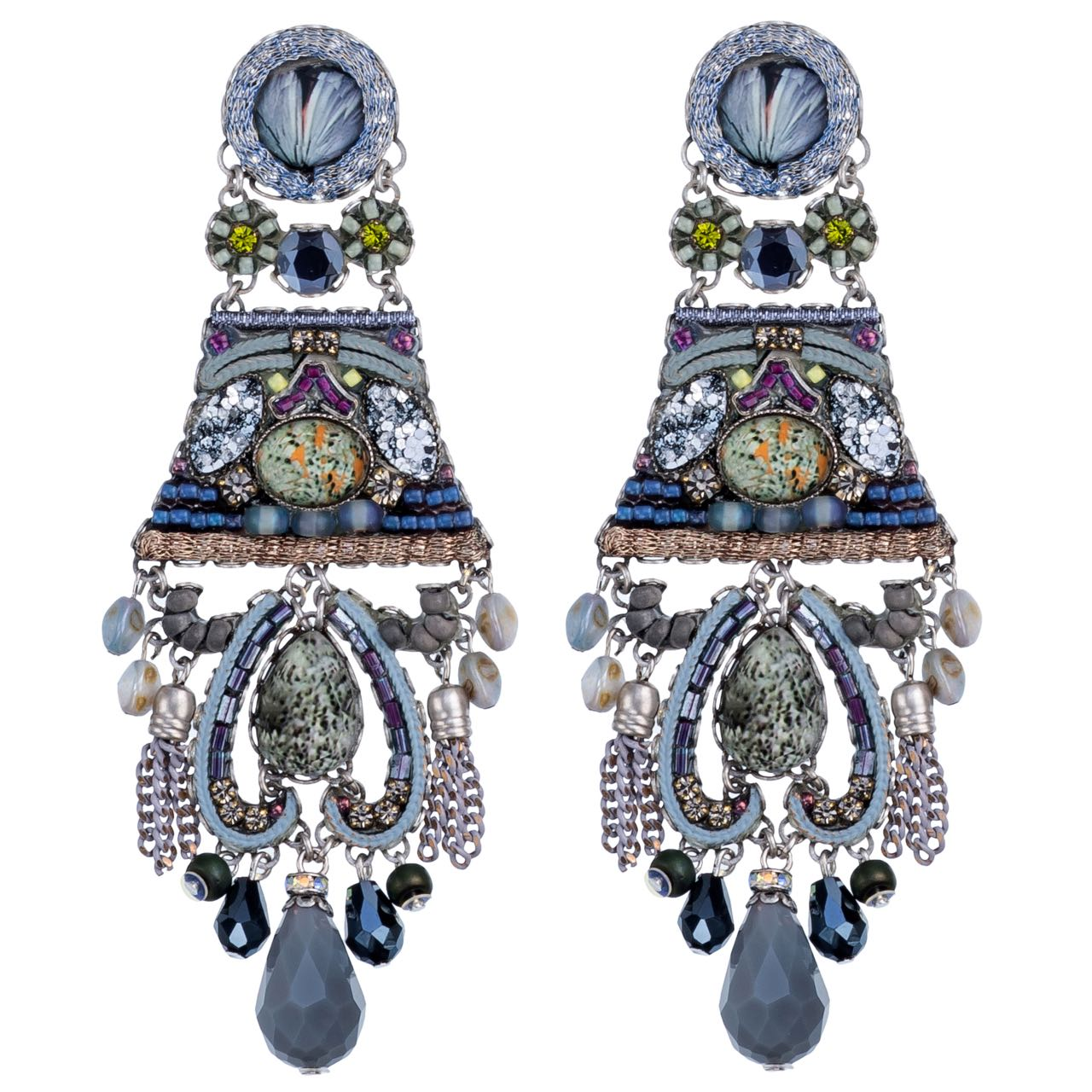 1350 Ayala Bar Earrings Hemlock Buy Online