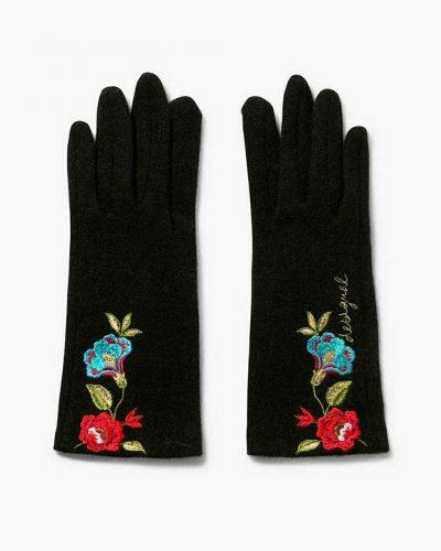 17WAAP00_2000 Desigual Gloves Caribou Buy Online